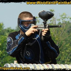 Me At Woodland Paintball